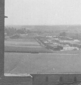 Tuż za murami pomnika powstał obóz jeniecki Stalag IB Hohenstein.