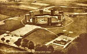 Widok ogólny kompleksu Tannenberg-National-Denkmal